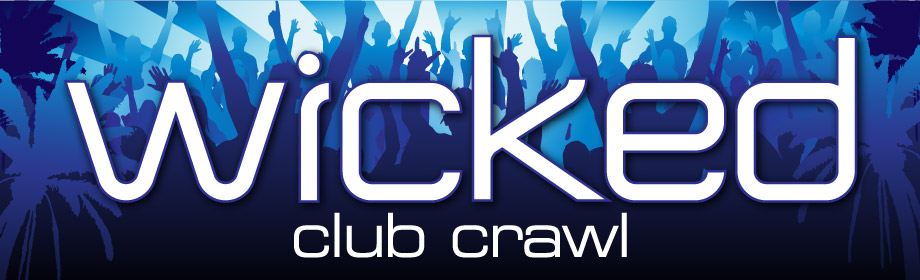 wicked club crawl, Gold Coast